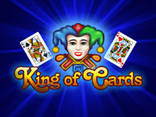Играть на реальные деньги на аппаратах King Of Cards