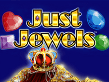 На зеркале казино Вулкан Just Jewels