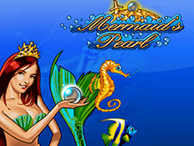 На зеркале казино Вулкан Mermaid's Pearl Deluxe