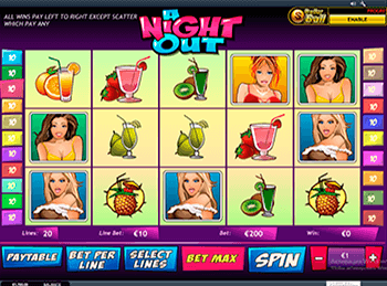Игровые аппараты A Night Out